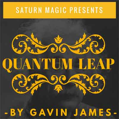 Quantum Leap Blue (Gimmicks and Online Instructions) by Gavin James[1]